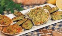 Cozze, ostriche e capesante gratinate