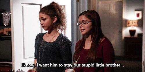 Alex e Haley in Modern Family