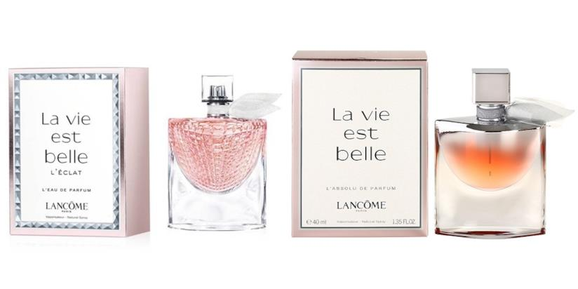 l'eau de parfum La vie est belle L'éclat, new entry della collezione La vie est belle di Lancôme