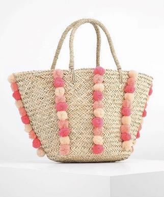 La borsa Seafolly con i pon-pon