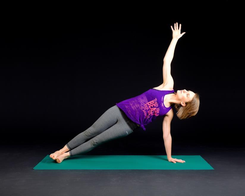 Plank laterali per l'addome