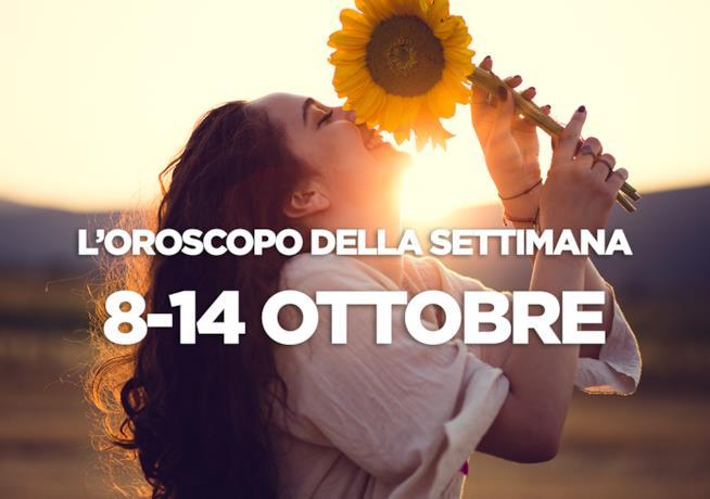 L'oroscopo della settimana, 8 - 14 Ottobre