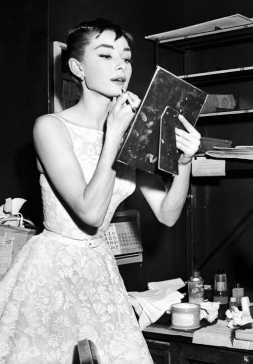 Audrey Hepburn agli Oscar 1955