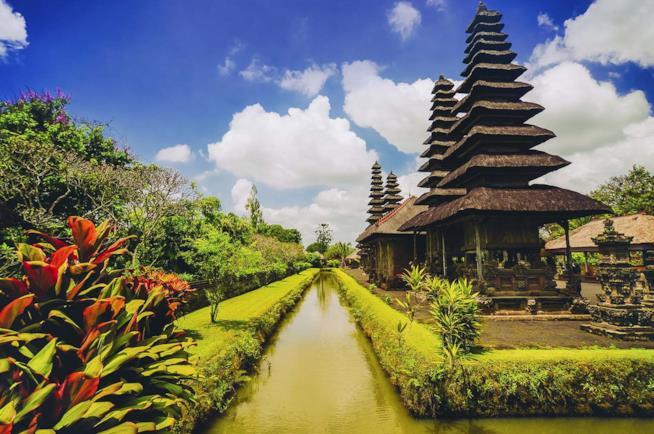Il Tempio Taman Ayun in Indonesia