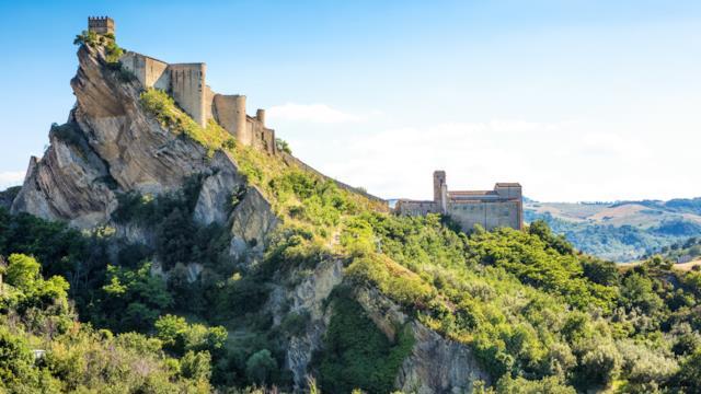 Castello di Roccascalegna, meta degli sposi americani