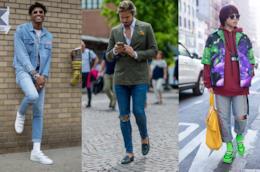 jeans strappati da uomo i modelli di moda nell'estate 2018