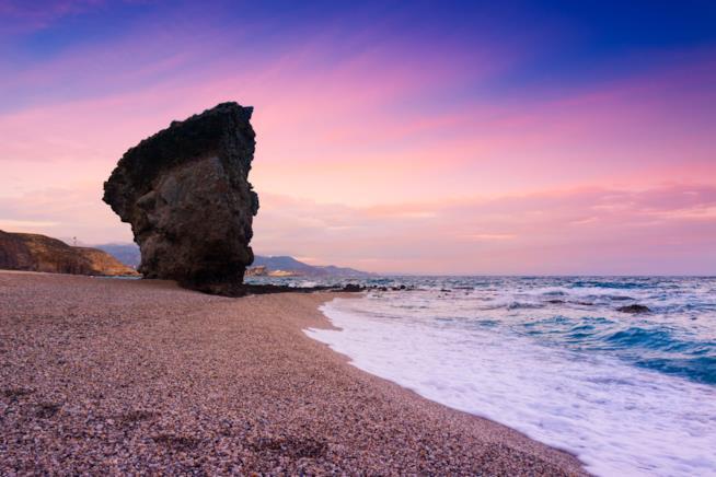 0 mete più rilassanti mondo: Cabo de Gata, Spagna