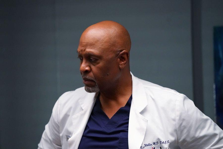 James Pickens Jr. in di Grey's Anatomy 14x03
