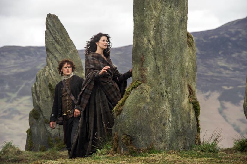 Un scena di Outlander