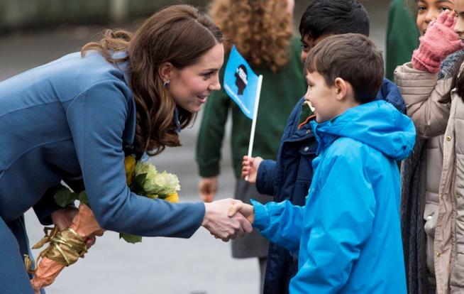 Kate Middleton per la settimana della salute mentale dei bambini