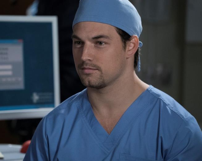 Primo piano di Andrew DeLuca in Grey's Anatomy