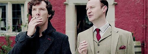 Sherlock e Mycroft Holmes