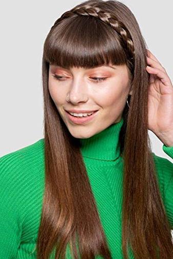 Fascia per capelli ad effetto treccia spessa
