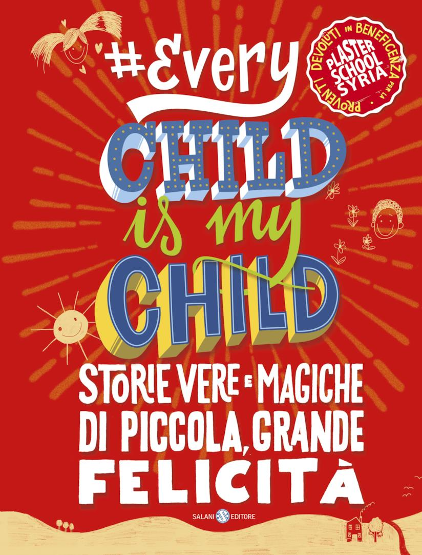La copertina rossa di Every Child is My Child