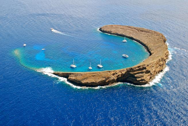 Il luogo perfetto per lo snorkeling: Molokini
