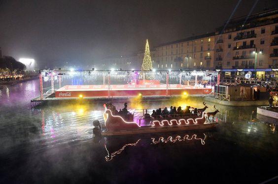 Mercatino natalizio ai navigli di Miano