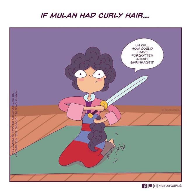 La vignetta di Mulan di Angela Mary Vaz