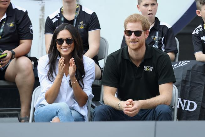 Meghan Markle con il Principe Harry