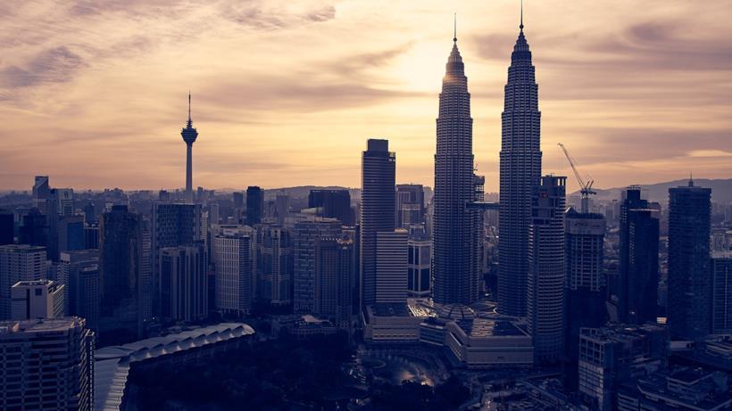 I grattacieli di Kuala Lumpur