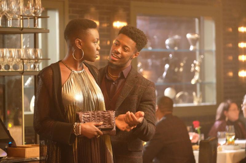 Micah e Mina in una scena di The Resident