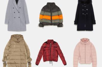 Cappotti e piumini di Zara per l'inverno 2018