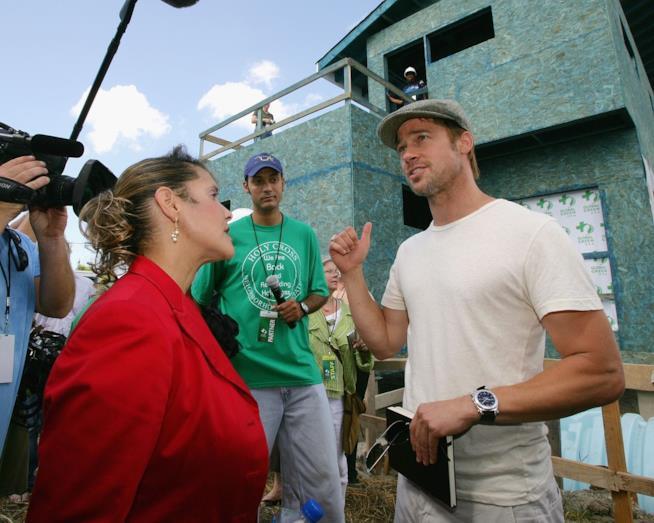Brad Pitt a New Orleans