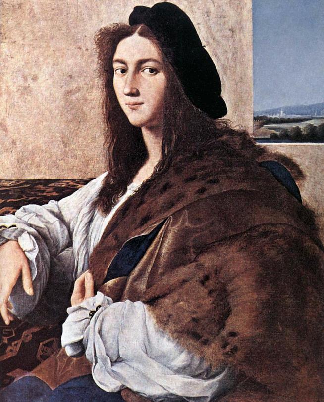 Ritratto di giovane uomo di Raffaello