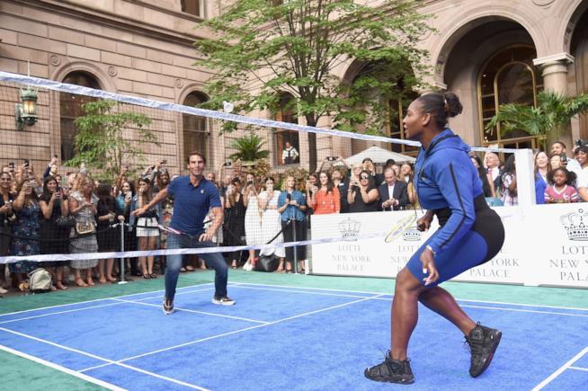 Serena Williams e Rafael Nadal