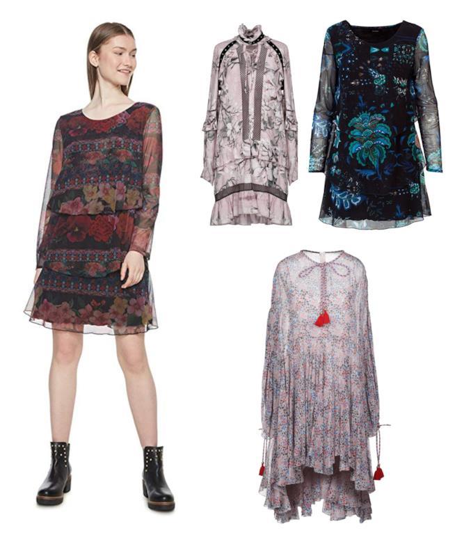 Tendenza stampa floreale  vestiti e accessori di moda in autunno 2018 41d68163aef