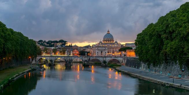 Roma in inverno
