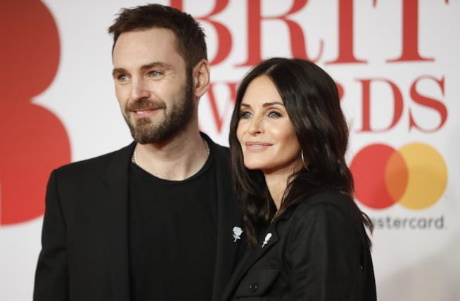 Courteney Cox e il fidanzato Johnny McDaid