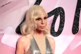Donatella Versace a un evento