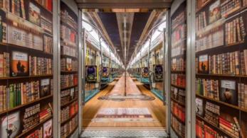 Un vagone della metropolitana di Pechino