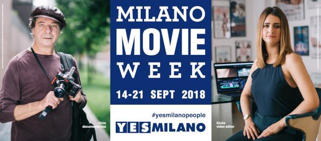 Dal 14 al 21 settembre a Milano si festeggia il cinema con Milano MovieWeek