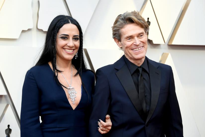 Willem Dafoe e Giada Colagrande sul red carpet degli Oscar