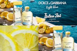Dolce&Gabbana creano il profumo dell'estate Light Blue Italian Zest