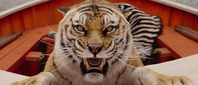 La tigre nel film Vita di Pi