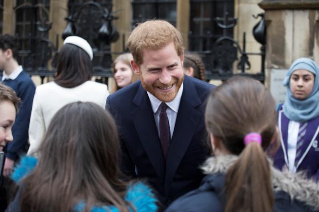 Il Principe Harry adora trascorrere del tempo con i bambini