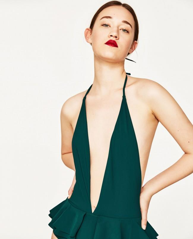 Zara costume intero estate 2017