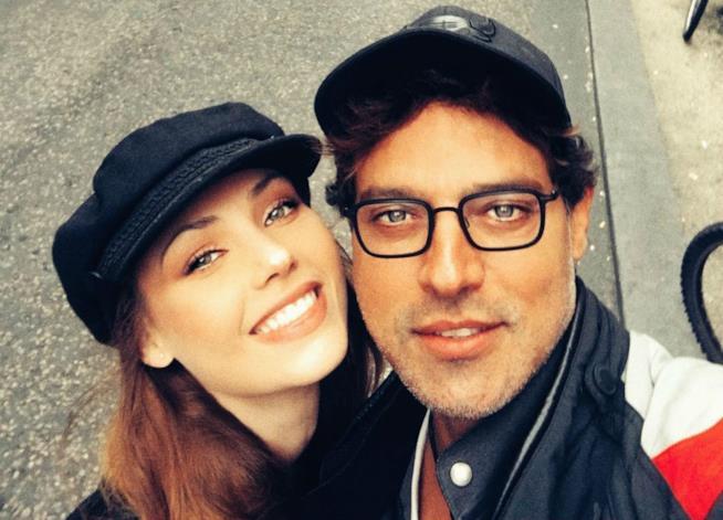 Gabriel Garko e Adua Del Vesco su Instagram