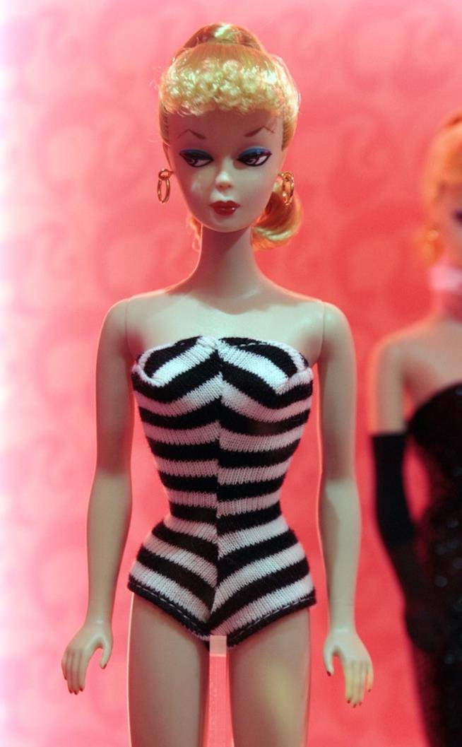 La prima versione della Barbie