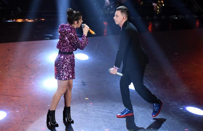 Federica Carta e Shade a Sanremo 2019