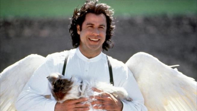 Travolta interpreta un angelo molto particolare nel film di Nora Ephron