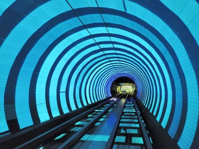 Stazione Shanghai Sightseeing Tunnel