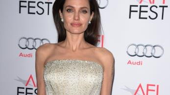 Angelina Jolie su un red carpet