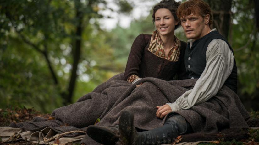 Un'immagine promozionale da Outlander