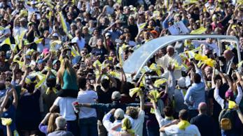 Il papa a Monza