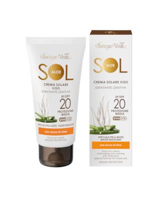 Sol Aloe Crema solare viso idratante lenitiva