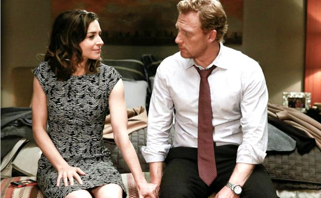Caterina Scorsone e Kevin MvKidd in Grey's Anatomy 13
