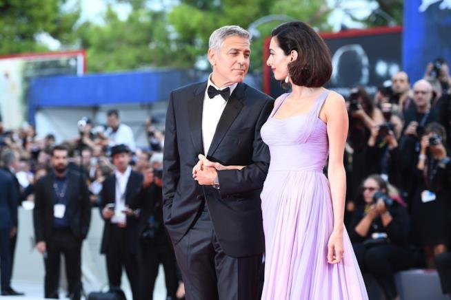 I coniugi Clooney a Venezia